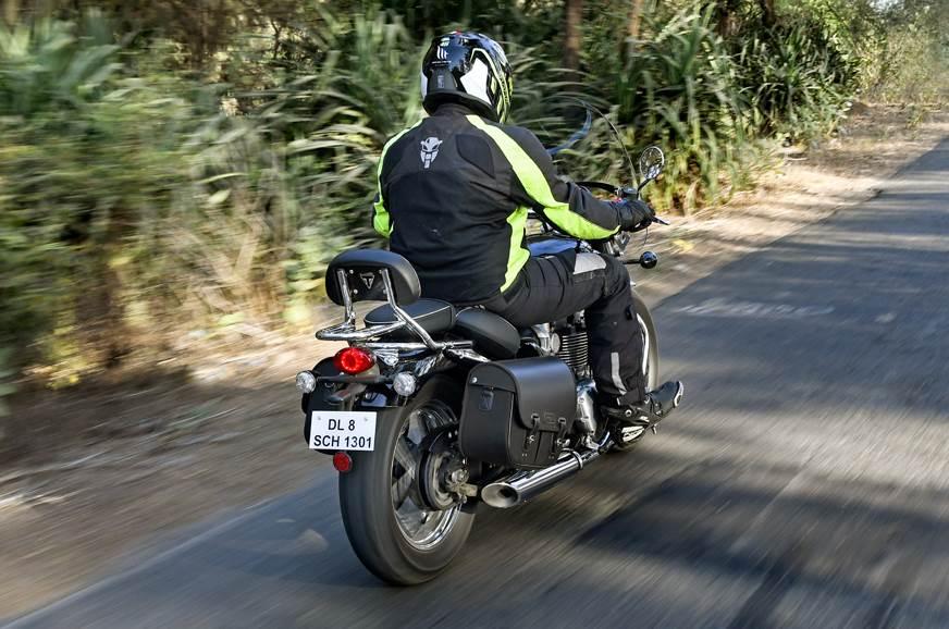 Triumph Speedmaster rear action