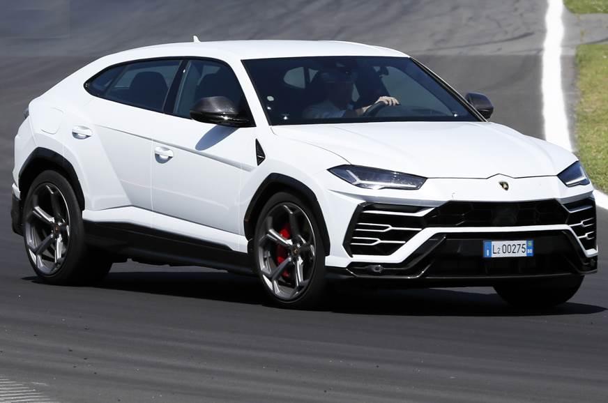 Lamborghini Urus track