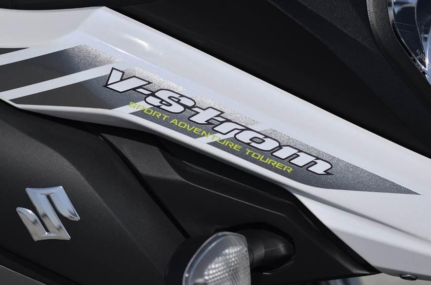 2018 Suzuki V-Strom 650XT logo