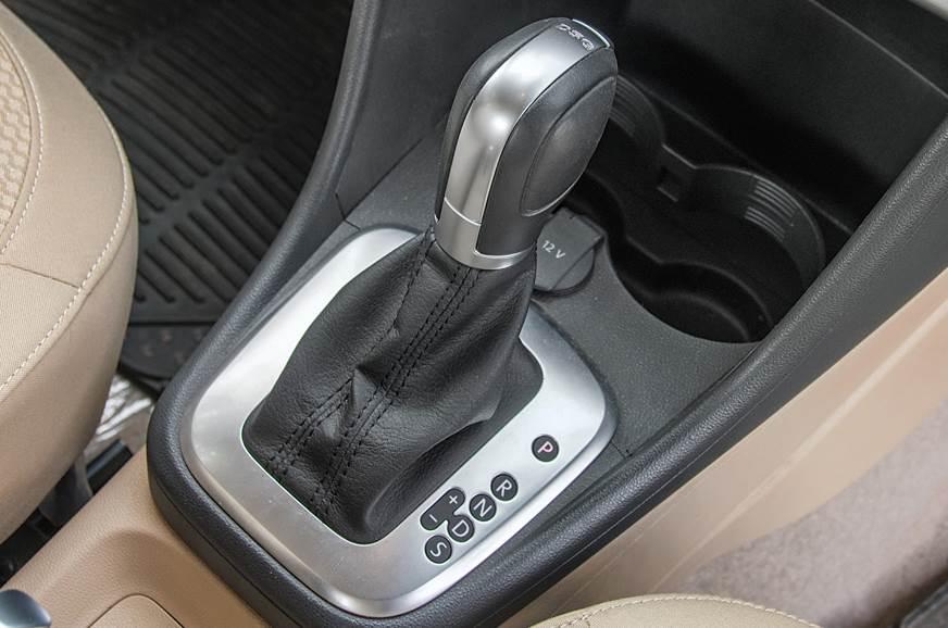 Volkswagen Ameo dual-clutch gearbox
