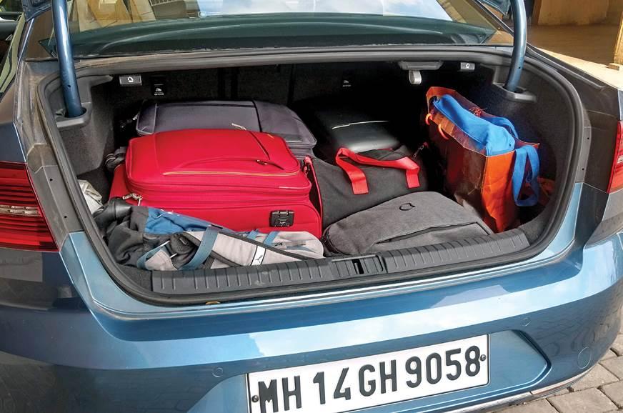 2018 VW Passat long term boot