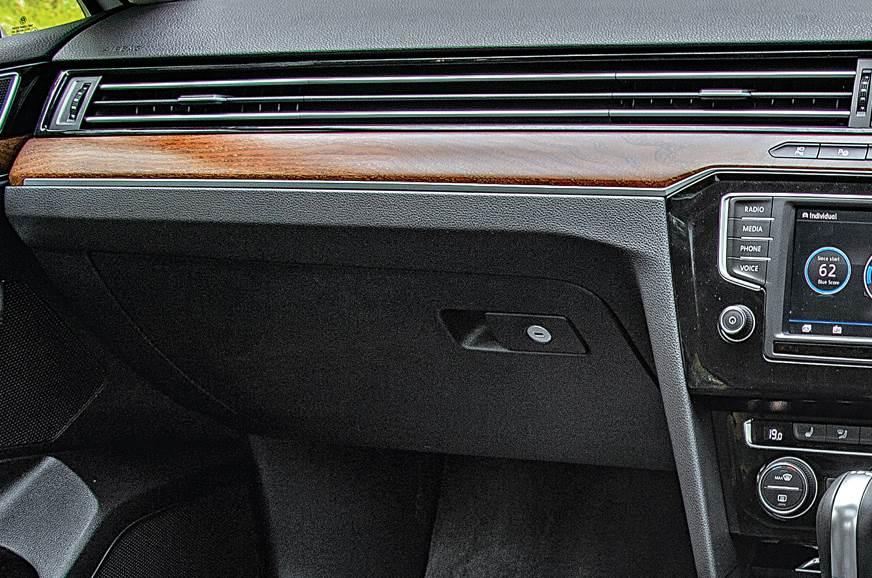 2018 VW Passat long term glovebox
