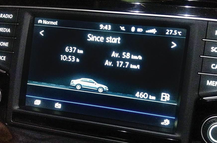 2018 VW Passat long term infotainment