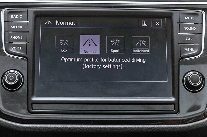 VW Tiguan infotainment