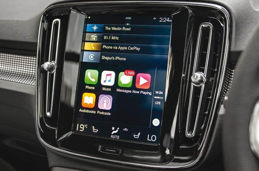 Volvo XC40 infotainment