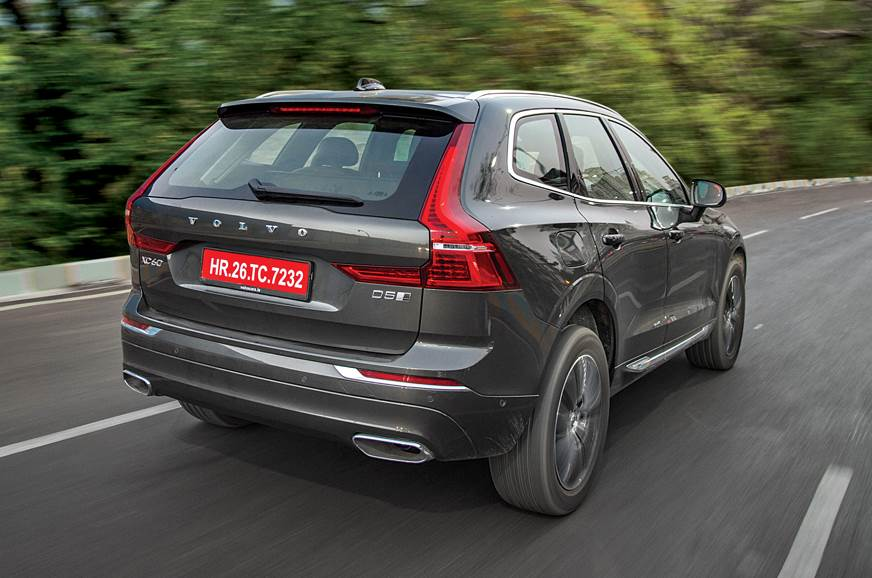Volvo XC60 rear action