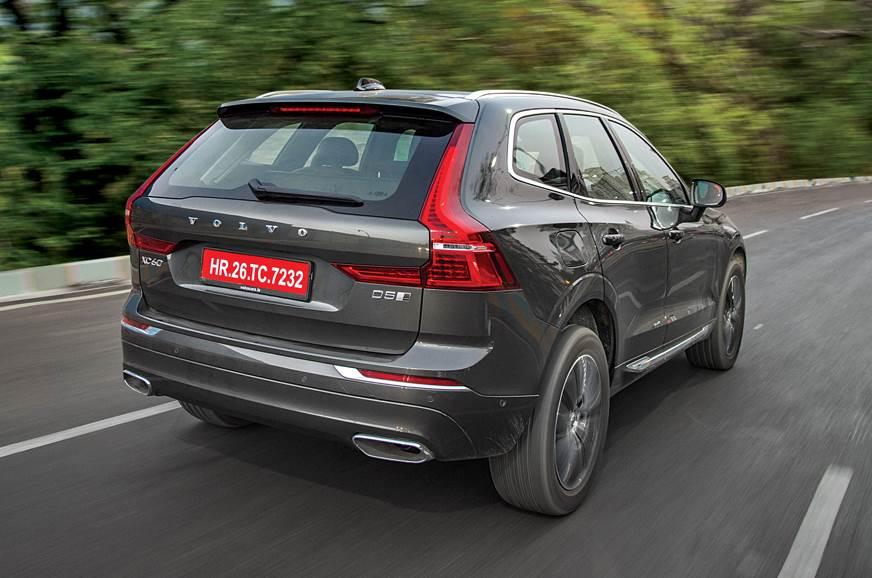 Volvo XC60 rear action
