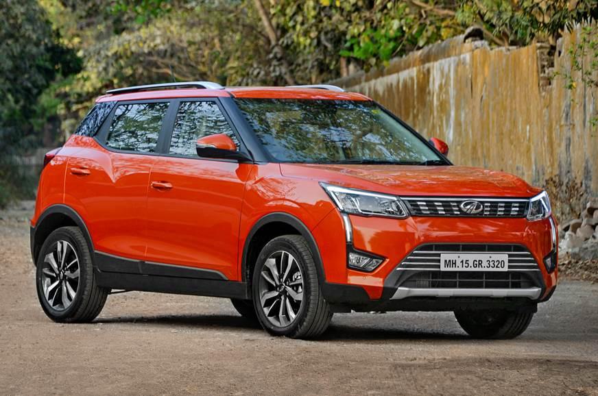 2019 Mahindra XUV300 petrol front static