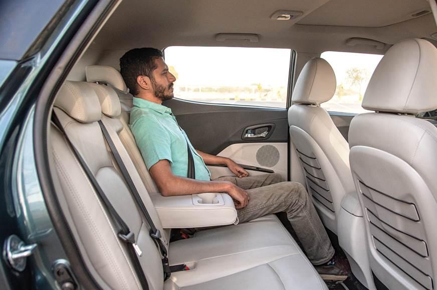 Mahindra XUV300 rear seats