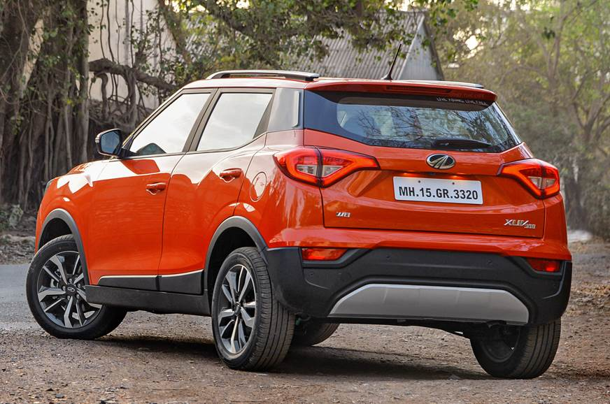 2019 Mahindra XUV300 rear static
