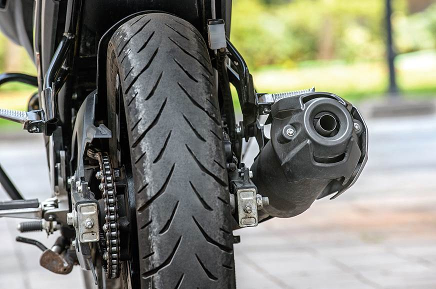Yamaha FZ25 rear tyre