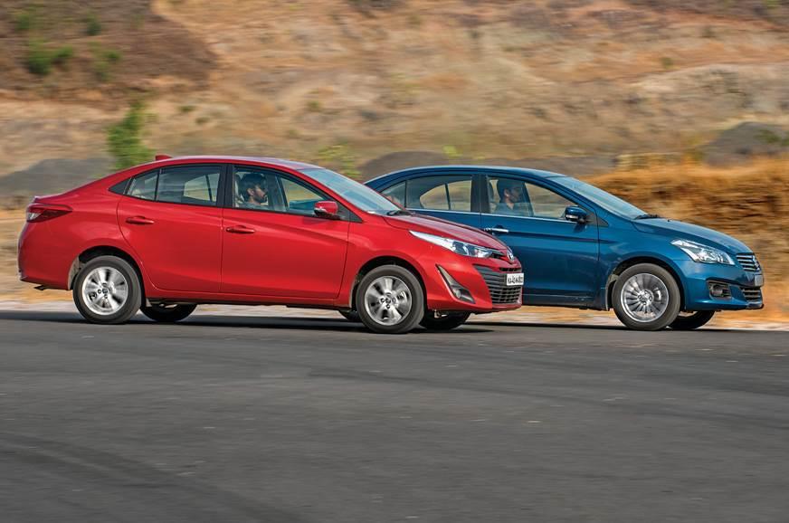 Toyota Yaris vs Maruti Ciaz