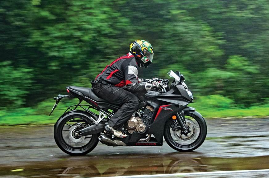 Honda CBR 650F side