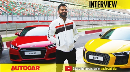 Virat Kohli and his affair with fast cars video