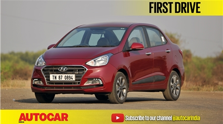 2017 Hyundai Xcent facelift video review