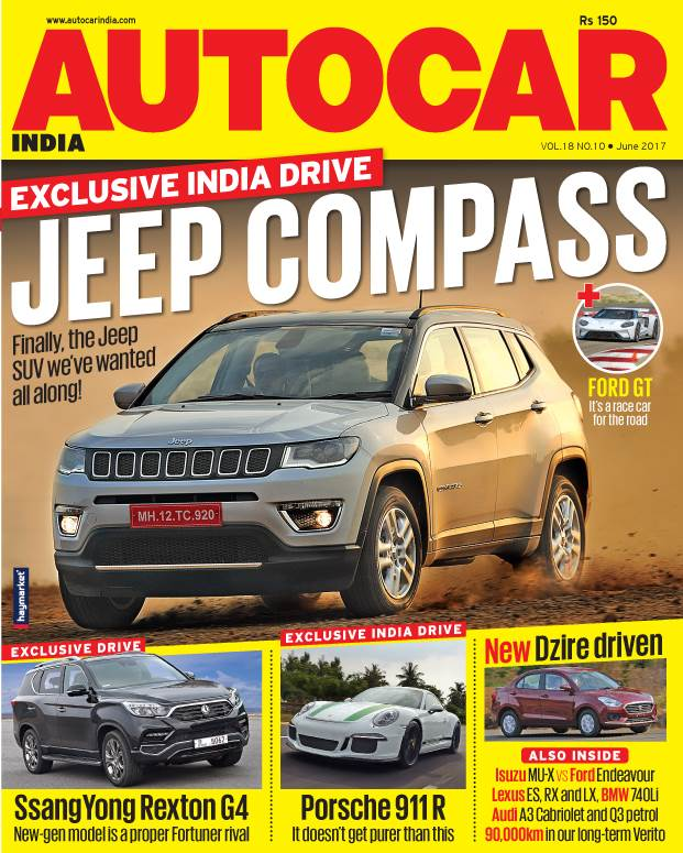 Autocar India Magazine Issue: Autocar India: June  2017