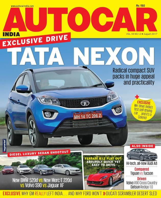 Autocar India Magazine Issue: Autocar India: August 2017