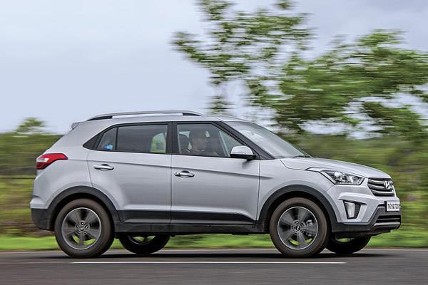Hyundai Creta Petrol Auto Vs Honda Br V Cvt Comparison Autocar India