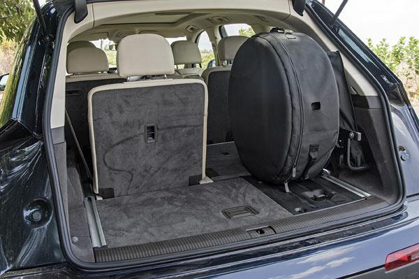 Audi Working On Space Saver Spare Tyre For Q7 Autocar India