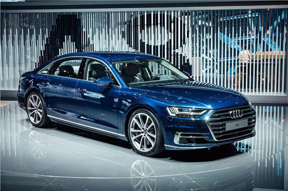 The Audi A8 Which Was Revealed At Summit In Early July Will Make An Earance Frankfurt