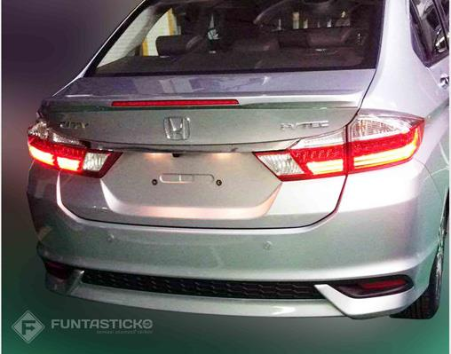 The side profile of the updated City remains the same, with larger 16-inch alloys instead of the 15-inch ones on the current model. The new City for India ...