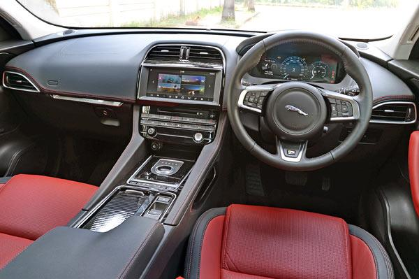 2016 Jaguar F-Pace diesel India review, price, interior ...