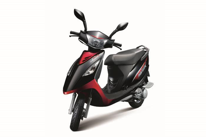 TVS Scooty Streak launched