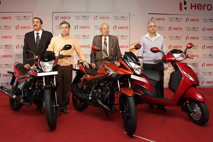 Hero MotoCorp unveils new products