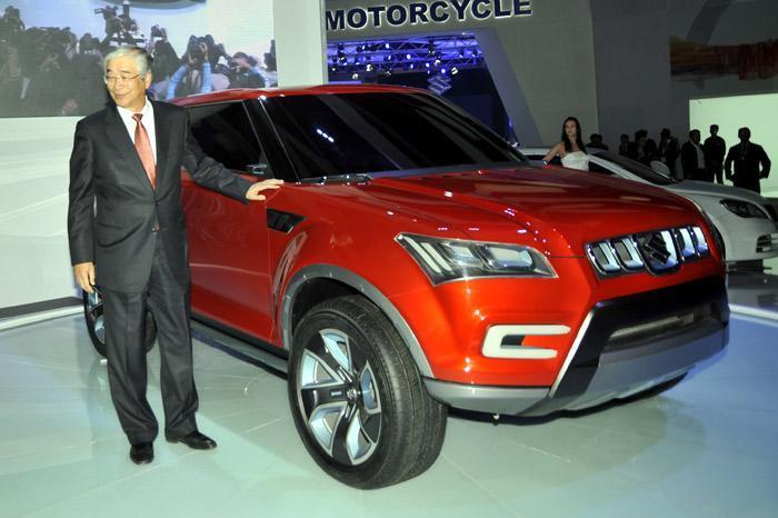 Maruti unveils XA Alpha SUV concept