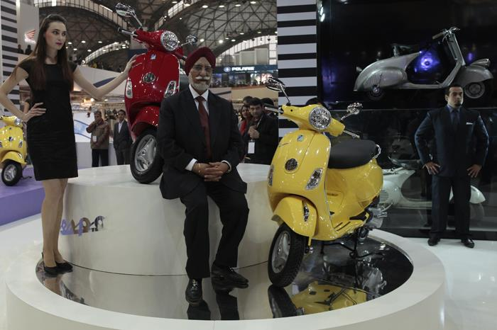 Piaggio's new Vespa scooter revealed
