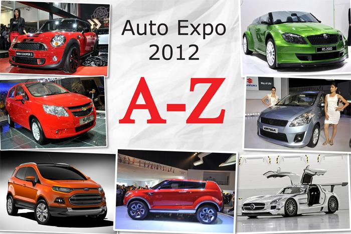 Auto Expo 2012 - full A-Z report