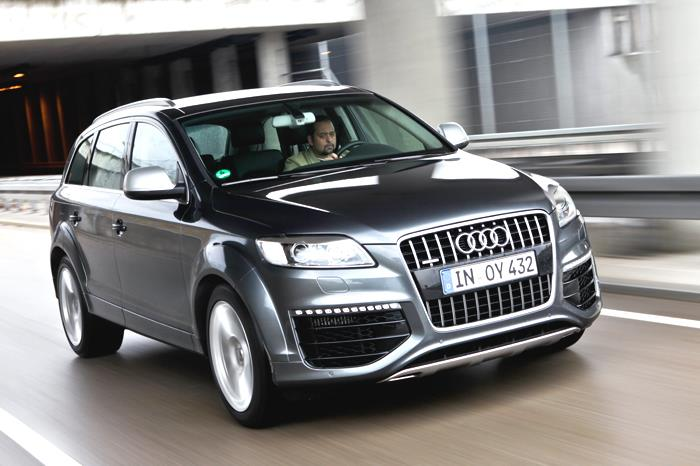 Audi Q7 V12 TDI review, test drive