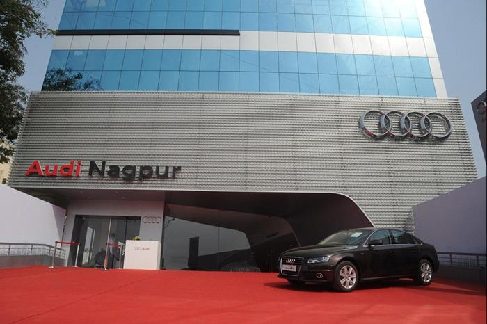 Audi opens Nagpur Showroom