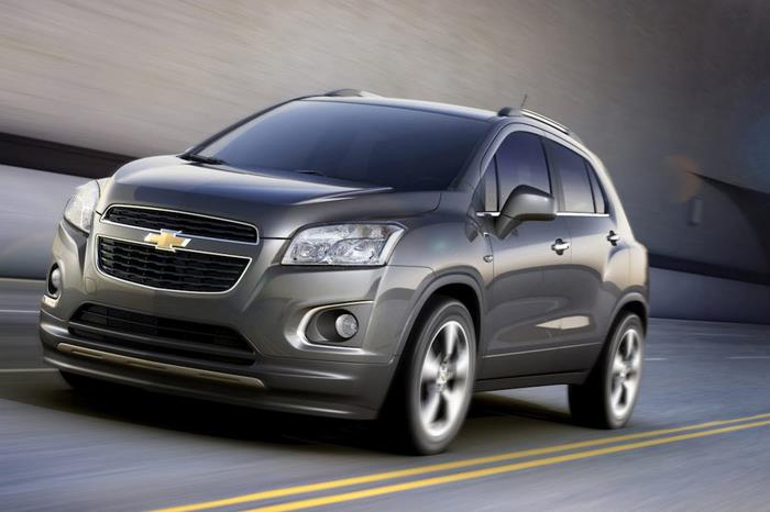 Chevrolet Trax SUV revealed