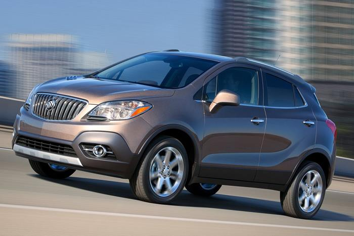 GM's Buick brand also gets a version of the Trax/Mokka known as the Encore.