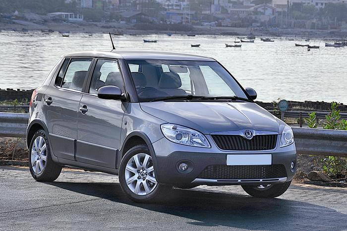 Skoda Fabia Scout review, test drive