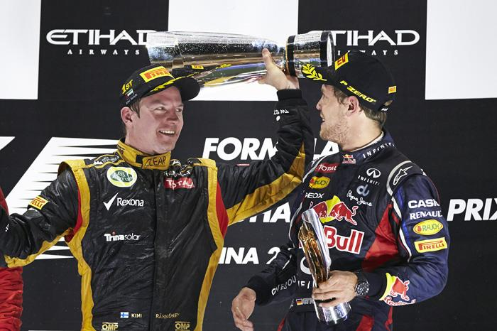 Raikkonen wins for Lotus at Abu Dhabi
