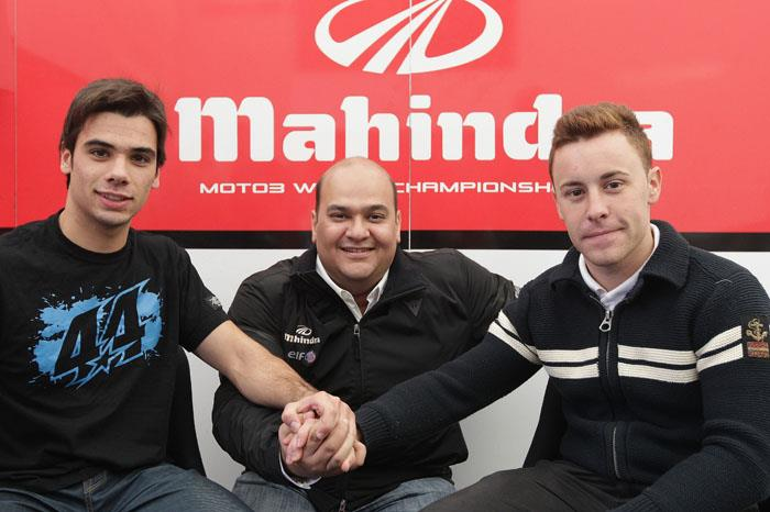 Oliveria and Vazquez for Mahindra in 2013