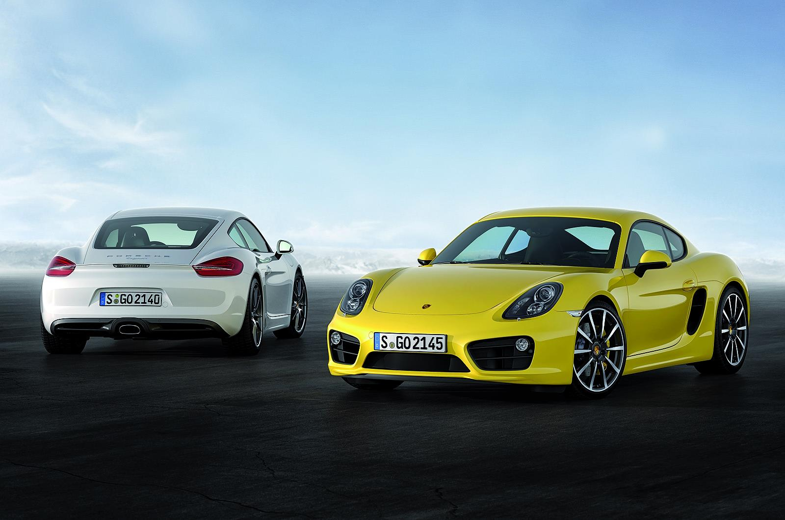 New Porsche Cayman unveiled