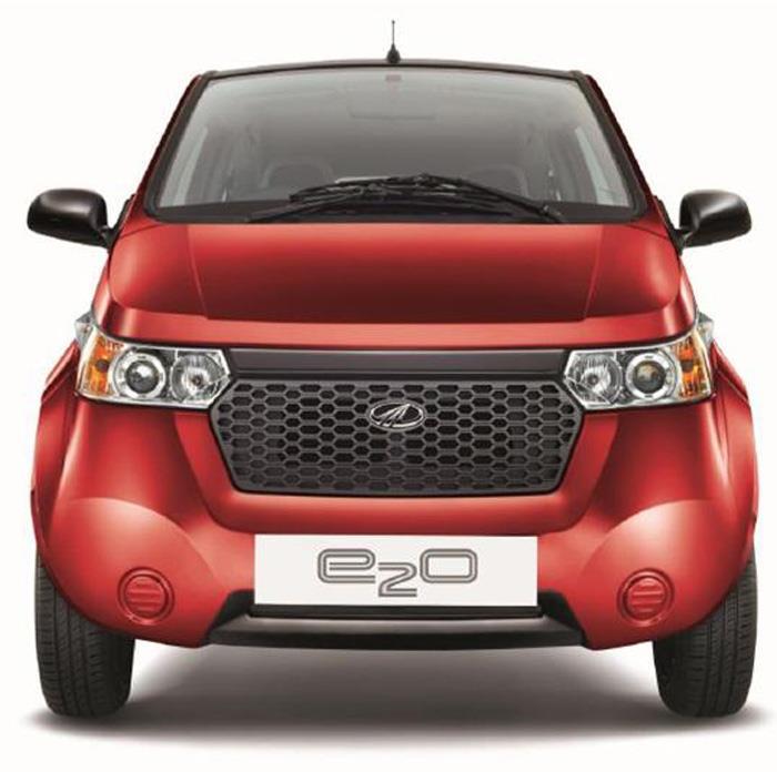 New Mahindra electric car is e<sub>2</sub>o
