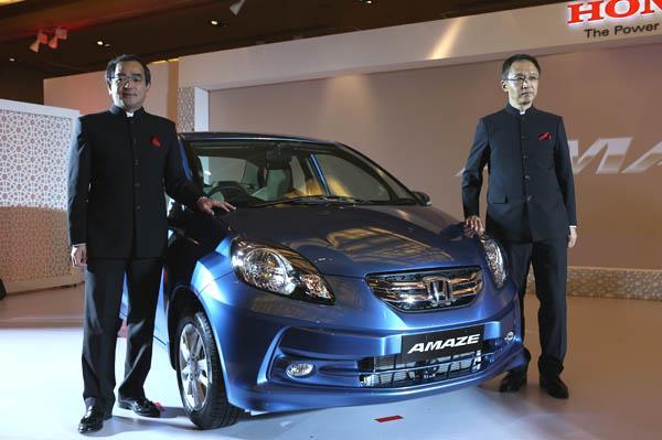 Honda Amaze launched