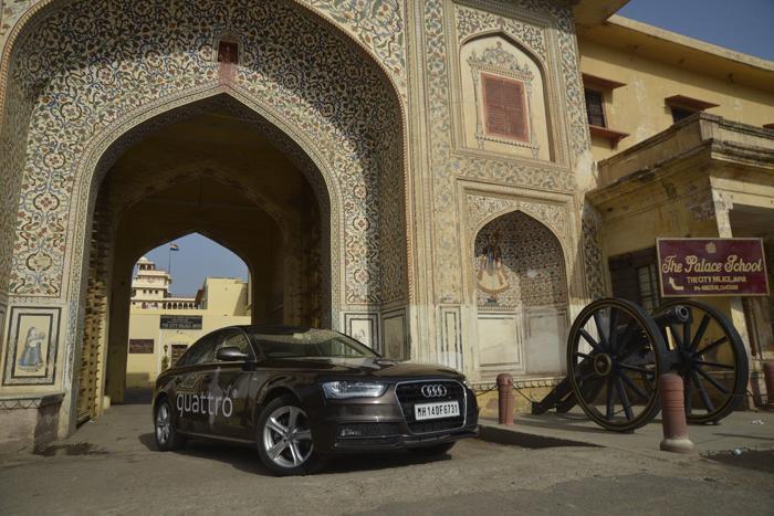 Audi Great India quattro Drive 1: Day 2 - Jaipur to Agra
