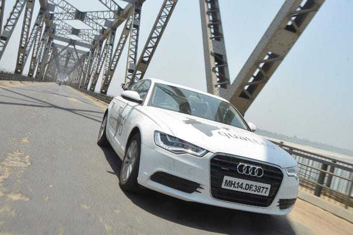 Audi Great India quattro Drive 1: Day 4 - Allahabad to Patna
