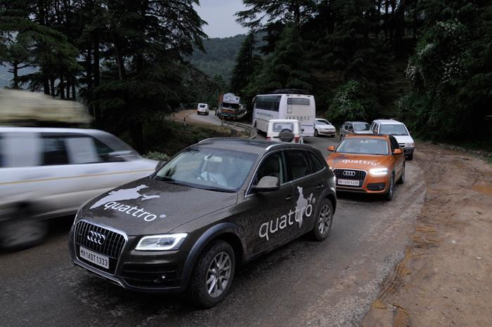 Audi Great Indian quattro Drive 2 Day 2: Jalandhar to Ramban