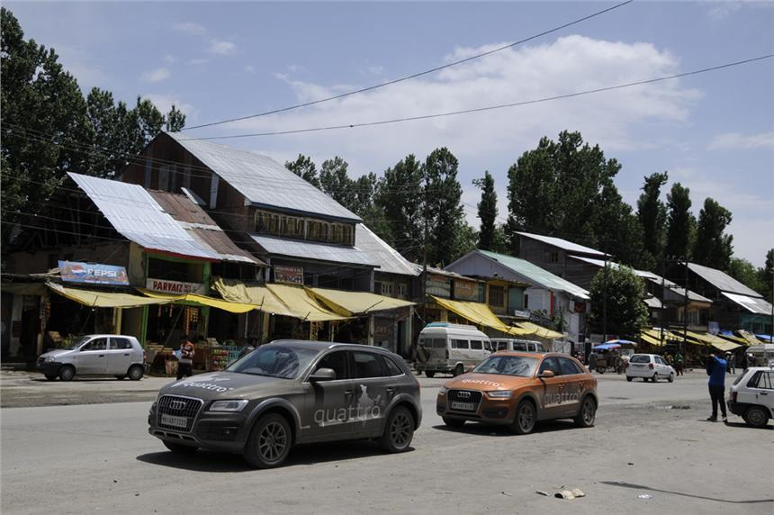 Audi Great India quattro Drive 2 Day 4: Srinagar to Dras