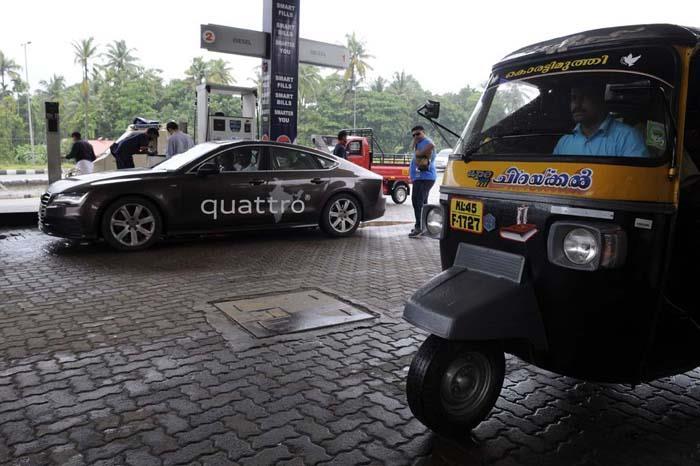 Audi Great India quattro Drive 3 Day 1– Kuttanad to Cochin