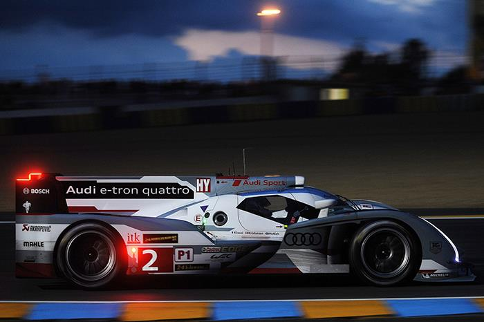 Le Mans: Audi on provisional pole