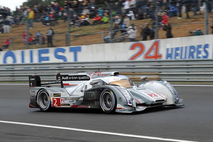 Le Mans 24 Hours: #2 Audi claims victory