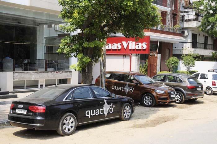 Audi Great India quattro Drive 3:Day 6: Delhi to Chandigarh