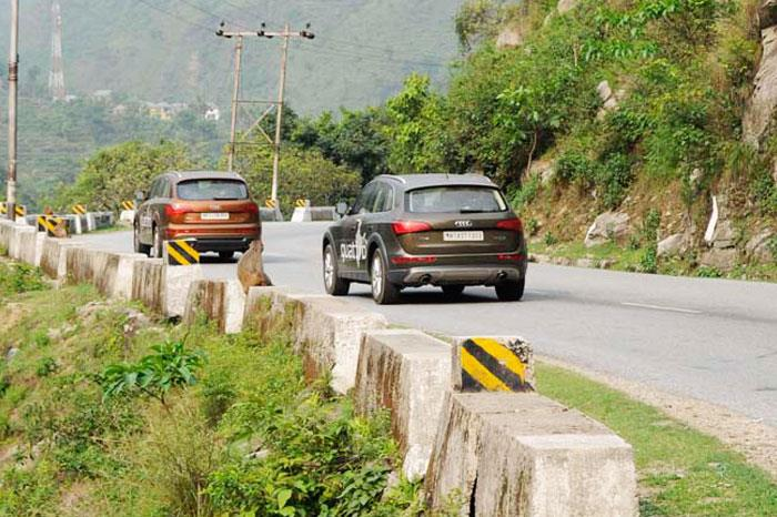 Audi Great India quattro Drive 3: Day 7- Chandigarh to Manali